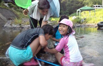 OISAKOの渓流で遊ぼう